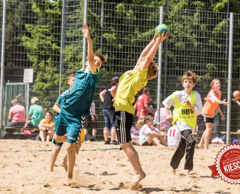 Beachhandball Jugend-Turnier Wesel Kiescup 2015 / Samstag