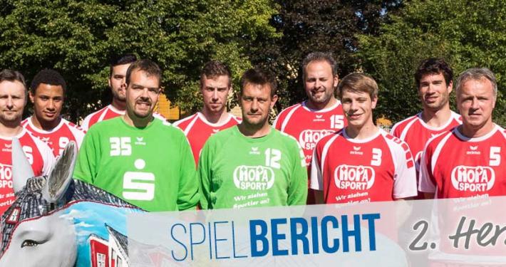 Spielbericht 2. Herren Saison 2015/16